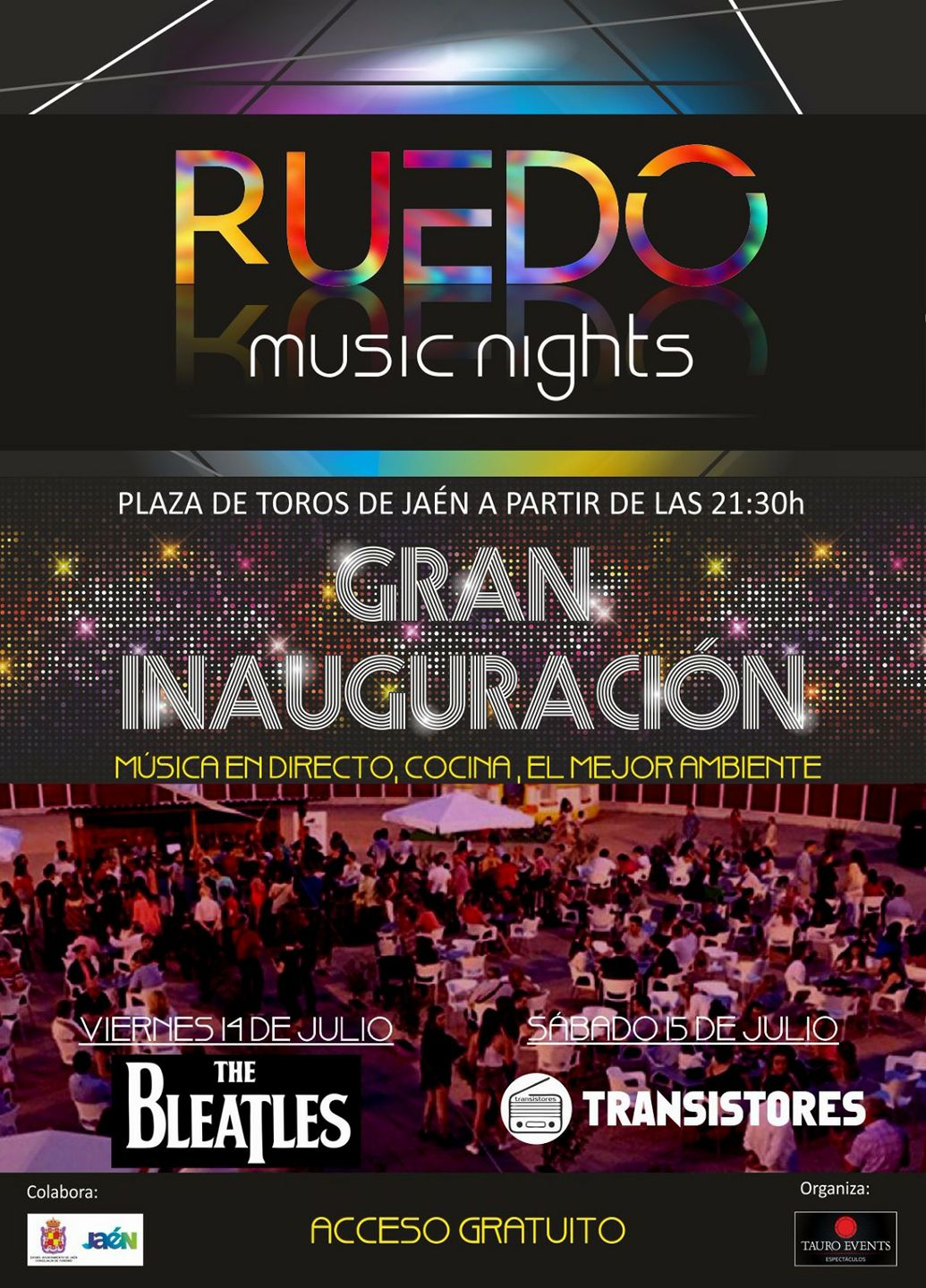 Ruedo music night Jaén 24h