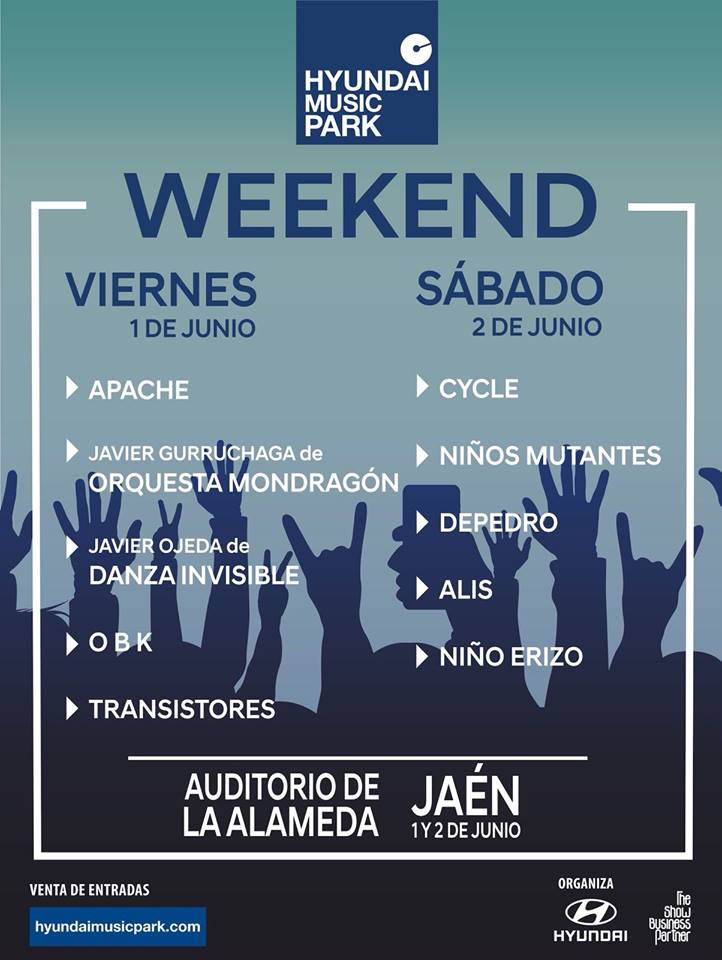 Hyundai Music Weekend Jaen24h