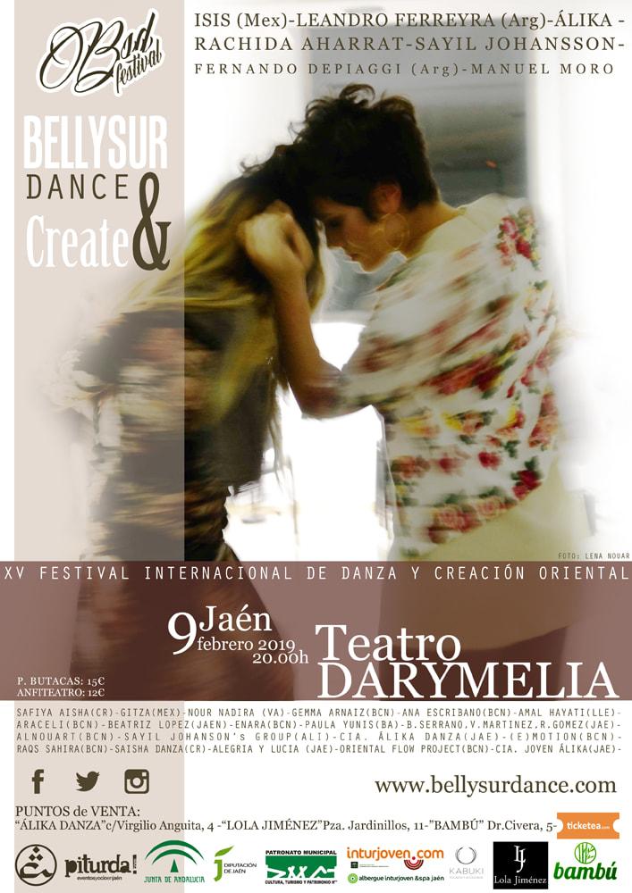 b742f1da9 XV Festival Internacional de Danza y Creación Oriental   Jaen24h